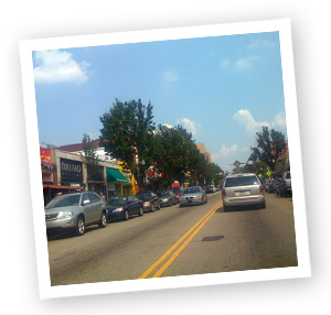 Forbes Avenue Squirrel Hill